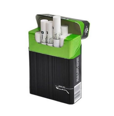 10 + 2 FREE Dunhill Switch Black/ Green King Size