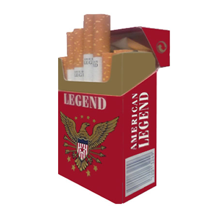 4 Cartons American Legend King Size