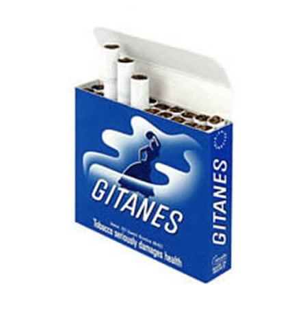 4 Cartons Gitanes Brunes Non-Filter