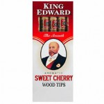 King Edward Wood Tip Cigars Cherry (5 Cigars)
