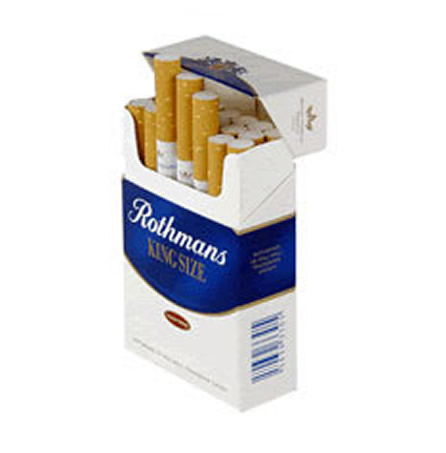 6 Cartons Rothmans Blue King Size