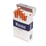 4 Cartons Winston Blue King Size